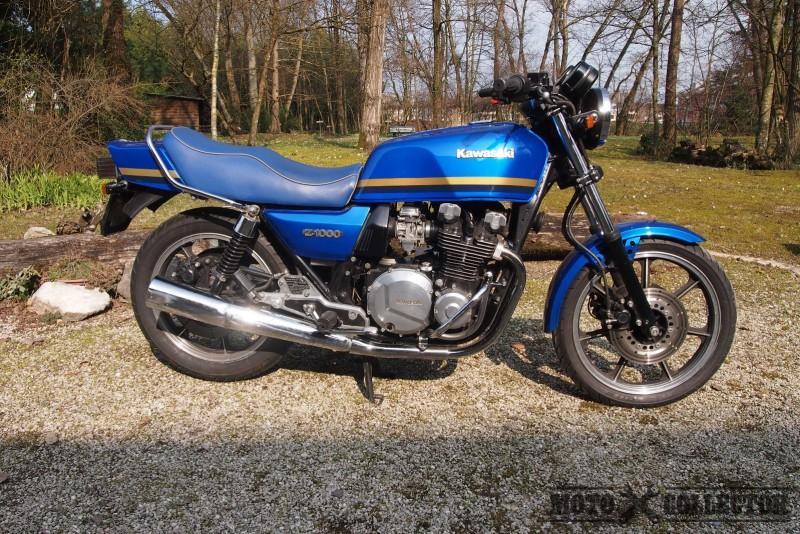 kawasaki z1000 1982 motos suisse motocollector. Black Bedroom Furniture Sets. Home Design Ideas